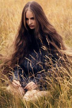 Ruslana Korshunova, a tragic beauty is the inspiration for my heroine, Lucia.