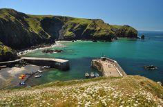 Mullion Cove, west Cornwall.