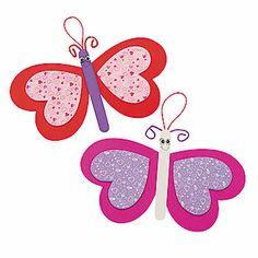 Valentine Butterfly Ornament Craft Kit
