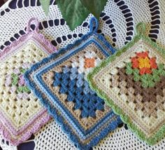Too beautiful to use - Potholders