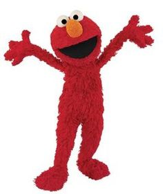 elmo. Always happy, makes the best of every situation. We could learn a lot from the little red monster.