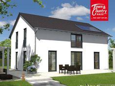 Ein schickes #Haus mit viel Platz für die ganze Familie: unser #Landhaus 142 #modern !   Mehr Infos zum Haus unter: http://www.hausausstellung.de/Das-Landhaus-142-Modern-Ihr-Town.4847.0.html