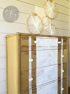 Dresser painted by Amanda of Ferpie and Fray