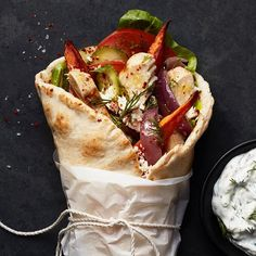 food Chicken Shawarma with Sweet Potato Fries You can get a great landscaping idea picture from the Croque Mr, Mezze, Shawarma Recipe, Good Food, Yummy Food, Cooking Recipes, Healthy Recipes, Mediterranean Recipes, Sandwiches