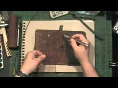 Tutorial: Traveler Notebook Style Ideas Alternate threading for the TN - YouTube