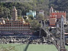 Índia - Rishikeshi - Ashrams