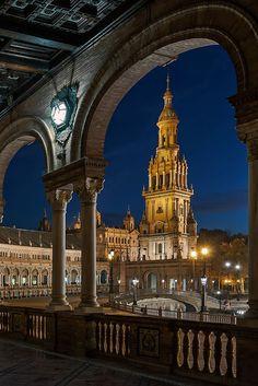 Sevilla Stadt in Spanien