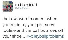 haha volleyball humor