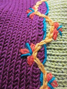 I back engineered a store-bought sweater after seeing so many of this style and thinking…hmmmm..I could Knit that!