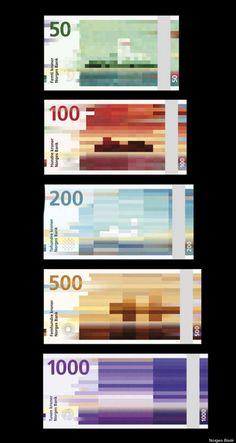 norges bank  노르웨이 화폐 리디자인