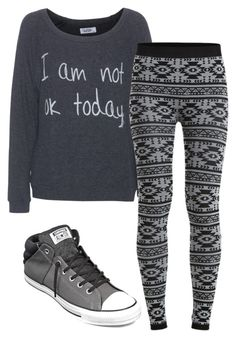 """""""."""" by adorci02 ❤ liked on Polyvore featuring LAUREN MOSHI, Object Collectors Item and Converse"""