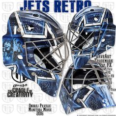 https://flic.kr/p/PNQWwT | Jets Retro | Ondrej Pavelec, Manitoba Moose, 2016
