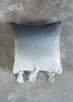 bird & wolfe dip-dye cushion