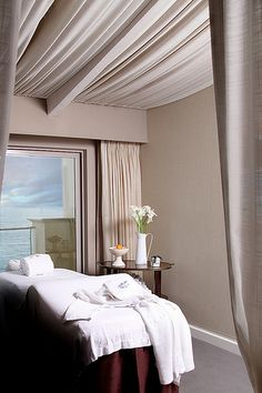 CURE SPA Treatment Room at the Malibu Beach Inn. ~ this is the color!