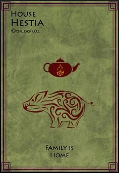 Game of thrones/Percy Jackson crossover houses