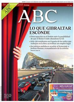 La portada de ABC del domingo 30 de agosto