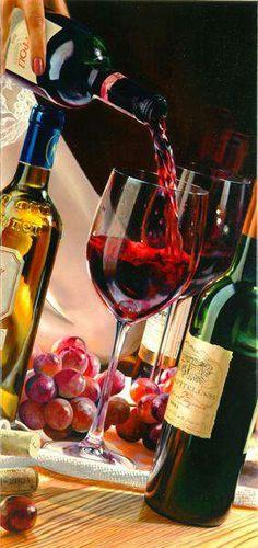 Difficile de croire que c'est une peinture tellement c'est réel !  #Vinvinvin
