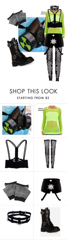 """""""Untitled #375"""" by netrunnerz ❤ liked on Polyvore featuring GAS Jeans, Amanda Wakeley, Rodarte, Forever 21, Cyberdog and Chinese Laundry"""