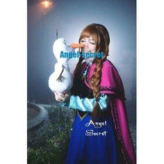 J787 ANNA Cosplay Costume