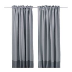 MARJUN Blackout curtains, 1 pair - IKEA