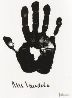 THE HAND OF NELSON MANDELA www.worldofglamoursa.com https://www.facebook.com/WorldOfGlamourSA#!/WorldOfGlamourSA