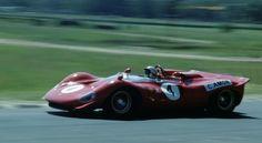Ferrari CanAm 350 '0858': Chris Amon: Warwick Farm 1968 (JohnEllacott)...
