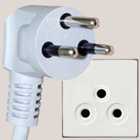 Excellent overview of all electric plugs that are currently in use around the world.