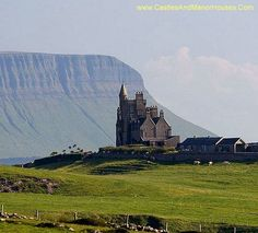 Classiebawn Castle, Mullaghmore peninsula near Cliffoney, County Sligo, in the Republic of Ireland - www.castlesandmanorhouses.com.