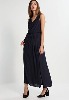 """ONLY. ONLDONNA - Maxi dress - night sky. Fit:tailored. Outer fabric material:100% polyester. Our model's height:Our model is 69.5 """" tall and is wearing size 8. Pattern:plain. Care instructions:do not tumble dry,machine wash at 30°C,A shri..."""