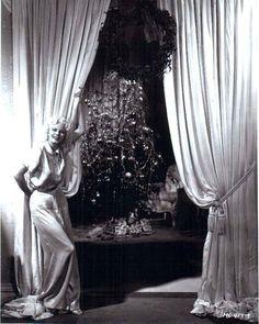 Jean Harlow at Christmas