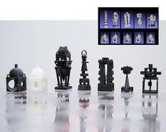3D printable Chess on Behance
