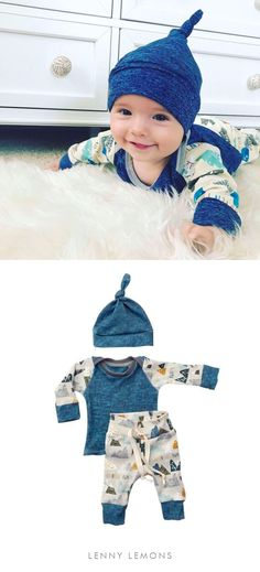 FREE US SHIPPING! UP TO 70% OFF. Cute 3 Pieces outfit for your little one. Cozy + soft cotton. Stretchy, will grow with baby! Great for all season and the perfect gift for a baby boy. Lenny Lemons, Babies and Toddler Apparel #babyboy #babyclothing #baby s/Lindsay Irrer