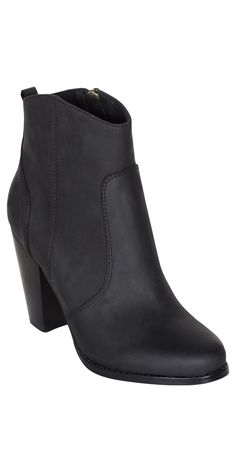 JOIE Dalton Booties Black | High Heel Leather Ankle Boots. OMG