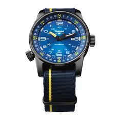 000d423d1a4 traser Compass Blue Dial P68 Pathfinder Swiss Automatic Men s Watch 107719