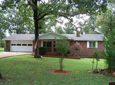 ALL-BRICK 2 BR 2 BA, 1741 sq ft., kitchen completely remodeled in 2016. Family room could be 3rd bedroom. New HVAC in 2016. New granite counter tops, stainless appliances and interior paint in 2016. 30x60 insulated shop. Fenced backyard. Sitting on 1.49 ac m/l park-like setting. Minutes from supercenter and town. A MUST SEE! in Mountain Home AR
