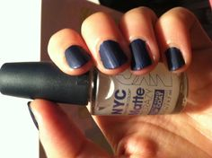 DUPE ALERT! I spent fourteen bucks on CK One matte nail polish before I found this NYC Matte About You topcoat for $1.39 at Wal-Mart. It works exactly the same, if not better!