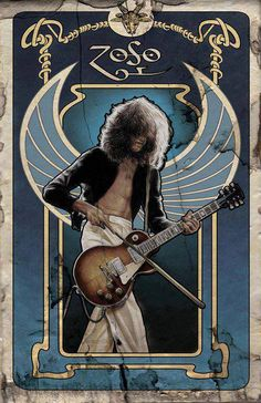 http://custard-pie.com f-a-n-t-a-s-t-i-c-p-l-a-n-e-t: there should be a led zeppelin tarot and this could be the magician