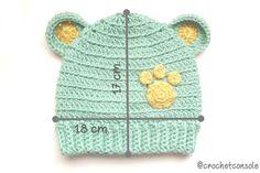 Crochet Baby Clothes, Crochet Baby Hats, Crochet For Kids, Knitted Hats, Knitting Patterns, Crochet Patterns, Crochet Handbags, Baby Socks, Knitting Socks