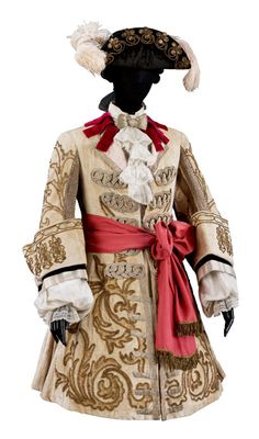 "Costume for Prince Charming from ""The Sleeping Princess,"" designed by Léon Bakst, Ballets Russes, 1921"