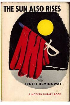 The Sun Also Rises – Ernest Hemingway (1926) If there's a cooler writer than Hemingway, we'll eat our hats. And coats. His first novel finds American journalist Jake Barnes and a group of hard-drinking cohorts travelling from Paris to Pamplona to immerse themselves in bullfighting. Less a love triangle than a love pentagon emerges with the sexually unrepressed Lady Brett Ashley, causing smouldering tension in the Basque country.