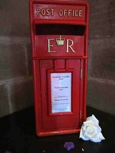 Post box - By Vikki - At Sapphire Bespoke Events, 59 Poulton Road, Wallasey, Wirral