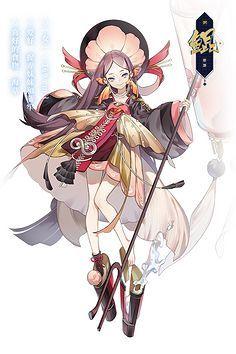 Female Character Design, Character Design Inspiration, Character Concept, Character Art, Concept Art, Japanese Characters, Cute Characters, Graphic Design Illustration, Illustration Art