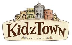 kidztown - children's ministry logo for faith baptist church in youngsville, nc.