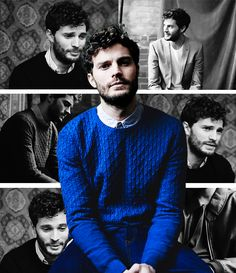 """ Jeff Hahn Captures Jamie Dornan for ASOS Magazine """