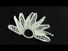 Irish Crochet Lace, an easy open flower over cord