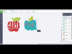 How to create text with in a shape by weld & slice - Cricut Design Space - YouTube
