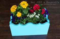 Cute little planter boxes, and easy to make with the right tools!