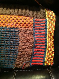 Ravelry: Slip Stitch Sampler Throw pattern by Lion Brand Yarn