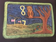 Numbers Seven and Eight drawn by Kim Stuart, Roseway Waldorf School, KZN, South Africa