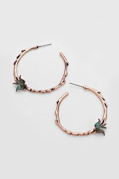 Dove Earrings in Copper